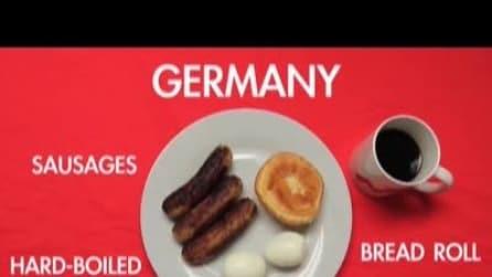 Cosa mangia il mondo a colazione?