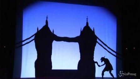 Quando la danza è un gioco di ombre, Shadowland dei Pilobolus in Gran Bretagna