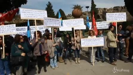 """Pompei, guide turistiche sul piede di guerra: """"No alla liberalizzazione Ue"""""""