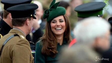"Kate Middleton ""green"" look alla parata di San Patrizio"