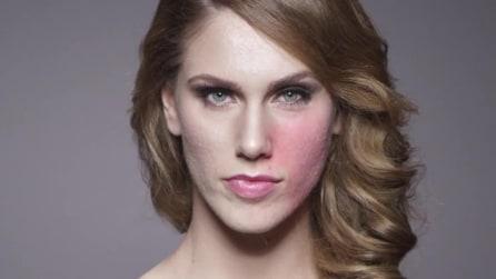 Cassandra mostra il suo vero volto senza make up