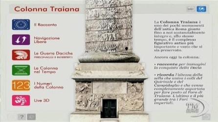 Arche Arte, una app per rivivere in 3D la colonna traiana a Roma