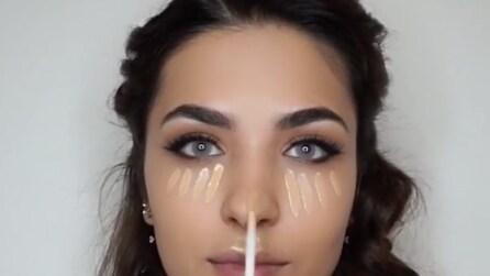 Mette il correttore in questo modo sul volto: il segreto per una pelle liscia
