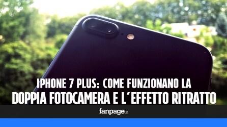 Come funziona la doppia fotocamera di iPhone 7 Plus e l'effetto Ritratto