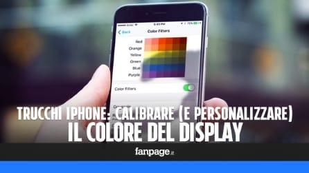 Trucchi iPhone: come calibrare (e personalizzare) il colore dello schermo