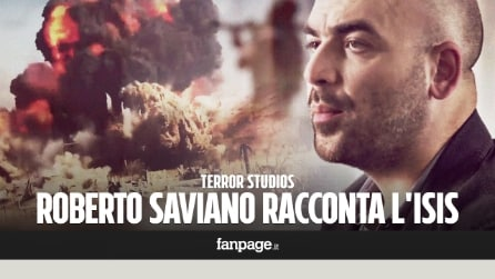 """Terror Studios"": Roberto Saviano racconta l'ISIS (ANTEPRIMA)"