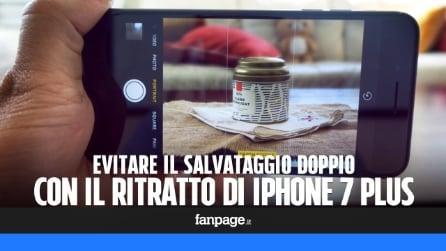 Evitare che la modalità Ritratto di iPhone 7 Plus salvi due foto