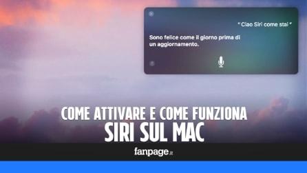 Come utilizzare Siri su Mac (con macOS Sierra)
