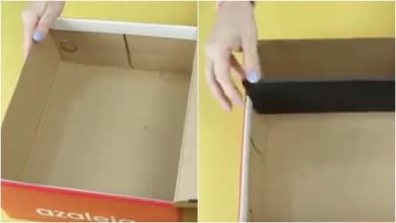 Come riciclare una scatola da scarpe in modo ingegnoso: l'idea che ogni donna amerà