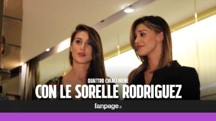 """Belén e Cecilia: """"chiacchiere di stile"""" con le sorelle Rodriguez"""
