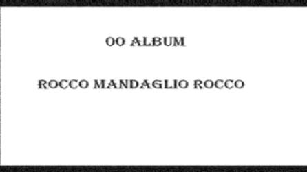 ROCCO MANDAGLIO demo