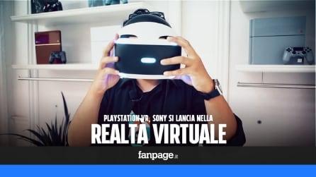 Abbiamo provato la realtà virtuale di PlayStation 4
