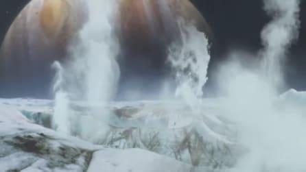 Vapore acqueo su Europa, satellite di Giove: la scoperta della Nasa