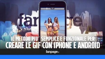 Il metodo più semplice (e funzionale) per creare e condividere le GIF con iPhone e Android