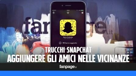 Trucchi Snapchat: come aggiungere gli amici nelle vicinanze