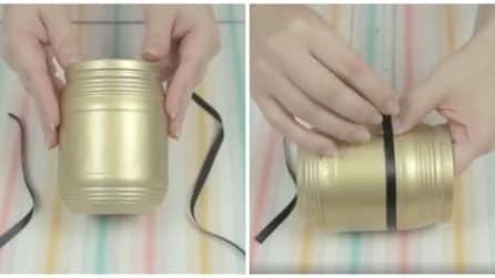 L'idea utile per trasformare un semplice barattolo di vetro