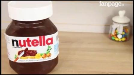 Come fare una torta a forma di barattolo di Nutella