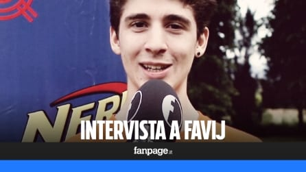"""Favij: """"Sono un ragazzo normale, nei video sfogo la timidezza. Con i fan ho un rapporto di amicizia"""""""