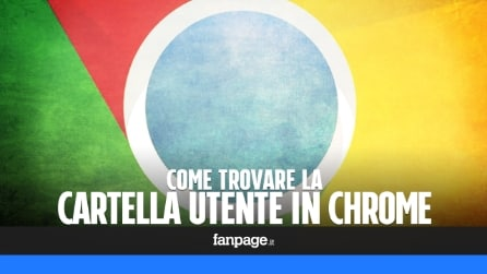 Come trovare la cartella dei propri dati personali in Chrome