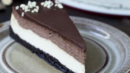 Come preparare la cheesecake Nutella e Oreo