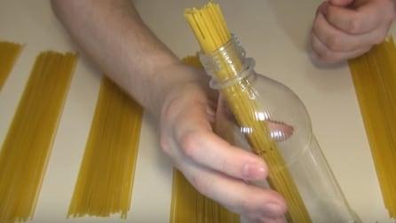 Il trucco per misurare le porzioni di spaghetti
