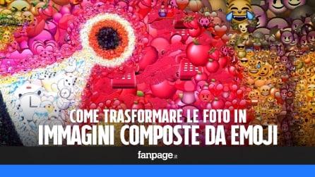 Emoji Art: come trasformare le proprie foto in immagini composte da 'faccine'