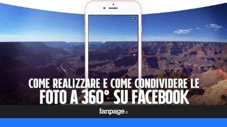 Foto 360 su Facebook: come realizzarle e come pubblicarle (senza fotocamera sferica)