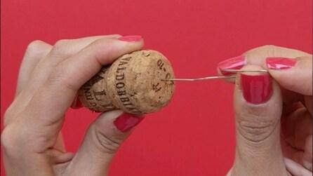 Come realizzare un segnaposto con i tappi di sughero