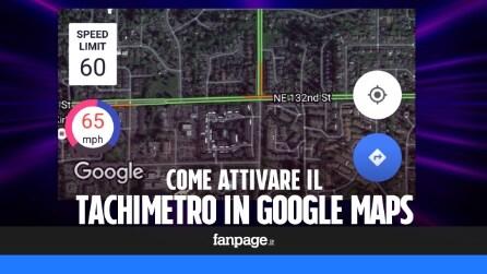 Attivare il tachimetro (e i limiti di velocità) in Google Maps e le altre app di navigazione