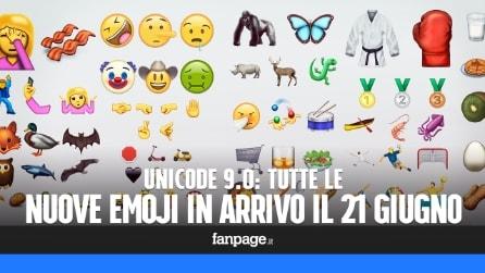Tutte le nuove Emoji: il 21 giugno arriveranno le nuove faccine