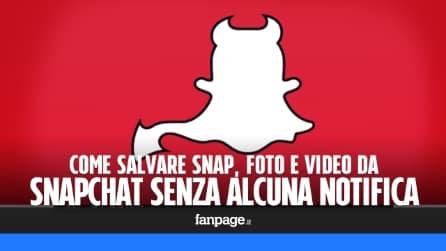 Trucchi Snapchat: salvare foto e video di Snapchat senza alcuna notifica