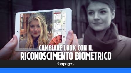 Cambiare look con il riconoscimento biometrico e un'app gratis