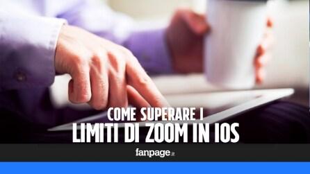 Trucchi iPhone e iPad: come superare il limite di zoom