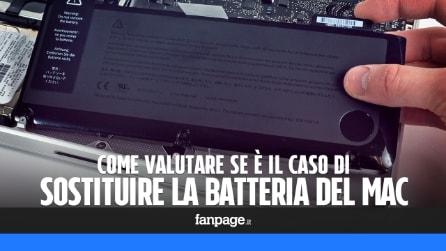 Come scoprire se è il momento di sostituire la batteria del proprio MacBook