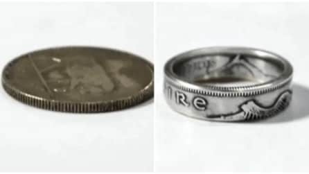 Da moneta ad anello: la trasformazione è incredibile