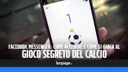Come giocare al gioco segreto del calcio su Facebook Messenger
