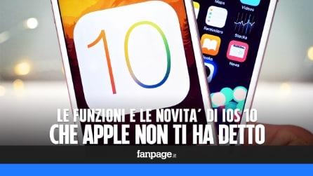 Le funzioni e le novità di iOS 10 che Apple non ti ha detto