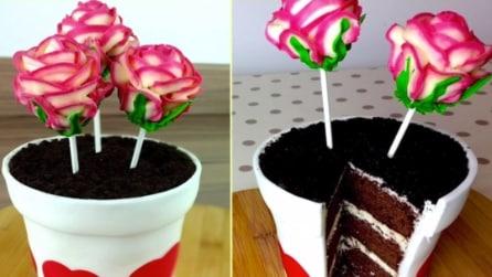 Come realizzare una torta a forma di vaso con i fiori: l'idea perfetta per un doppio regalo