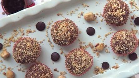 Praline cioccolato e nocciole: la ricetta super veloce
