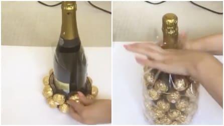 Bastano dei cioccolatini e una bottiglia di prosecco: quello che ottiene vi stupirà