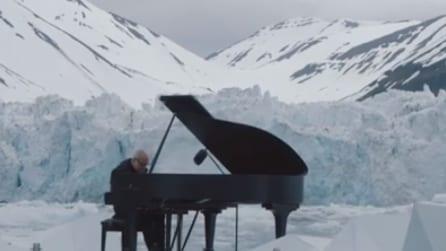 Un pianoforte tra i ghiacci: Ludovico Einaudi e la sua musica a per difendere l'Artico