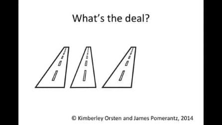 Tra le 3 strade, qual è quella diversa? La risposta giusta ti lascerà a bocca aperta