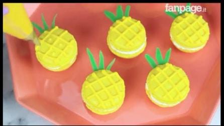 Macarons a forma di ananas: la ricetta facile e originale che conquisterà tutti