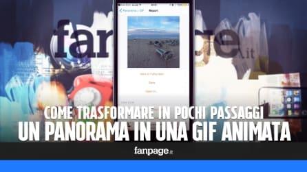 Trasformare un panorama in una GIF animata