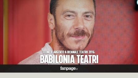 """Babilonia Teatri - Leone d'Argento alla Biennale: """"Basta parlare di sé, il nostro teatro è per tutti""""."""
