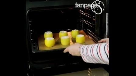 Inforna 6 limoni per 15 minuti: la ricetta di cui godere dopo pranzo