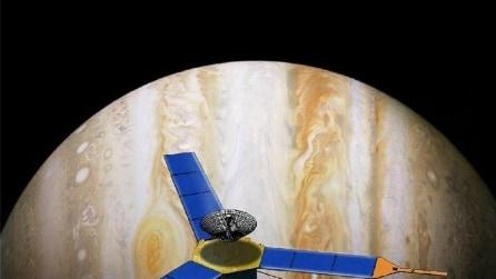 """La """"voce"""" di Giove registrata dalla sonda: uno spettacolo incantevole"""