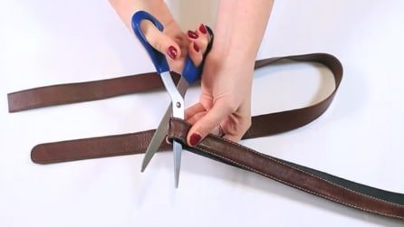 Non buttate delle vecchie cinture: come riciclarle in modo creativo
