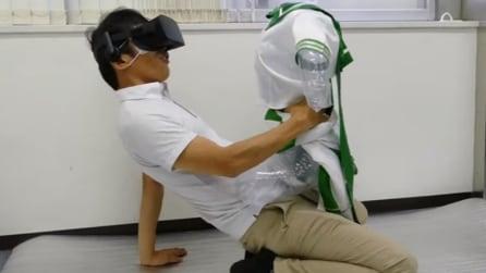 Come si farà sesso nel futuro: basterà la realtà virtuale e un manichino