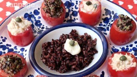 Pomodorini ripieni: la ricetta per un fresco antipasto